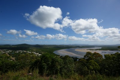 Blick über Cooktown