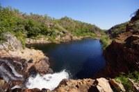 Wasserfall bei Edith Falls