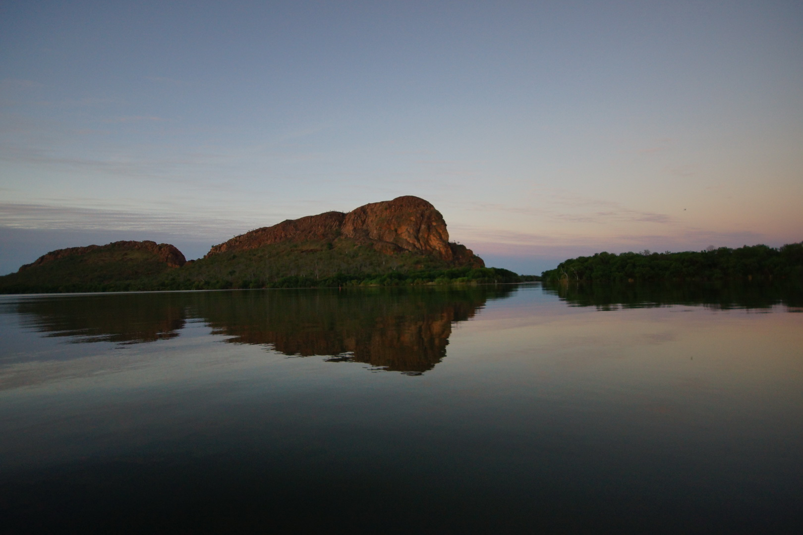 Elephant Rock am Ord River bei Kununurra