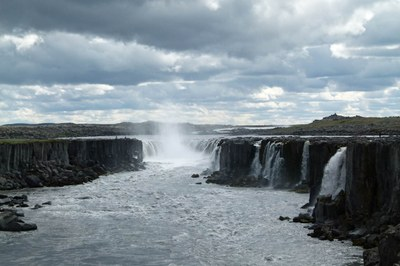 Selfoss- Wasserfall in Island Photo M. Schedel