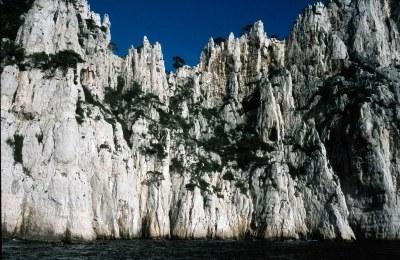 Calanques-Küste bei Cassis