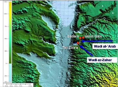 Dr. Wolfgang Auge: Landkarte Tall Zira´a
