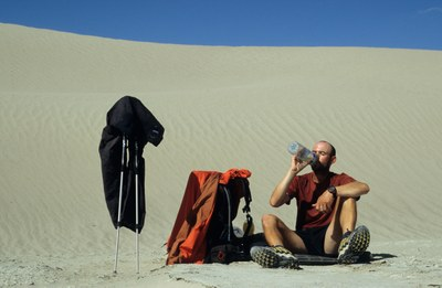 Michael Giefer: Pause in der Gobi