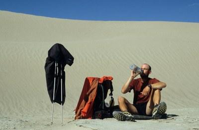 Michael Giefer: Pause in der Gobi
