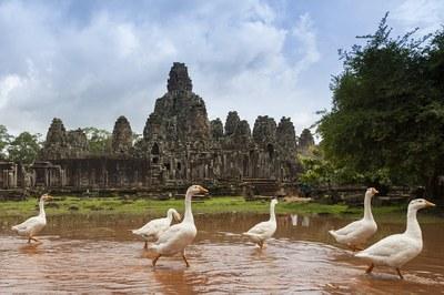 Bayon in Kambodscha