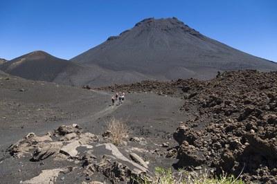 Der Vulkan Pico de Fogo