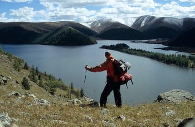 Michael Giefer: Im Khangy-Gebirge